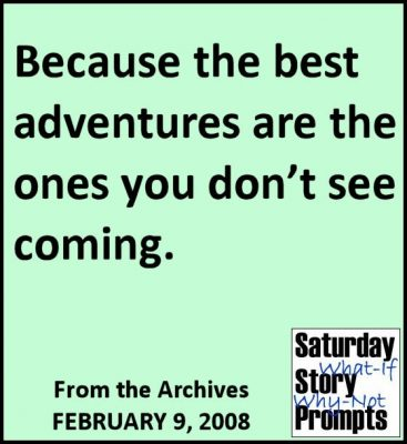 Saturday Story Prompts 02-09-2008