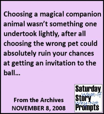 Saturday Story Prompts 11-08-2008