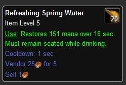 Refreshing Spring Water - World of Warcraft