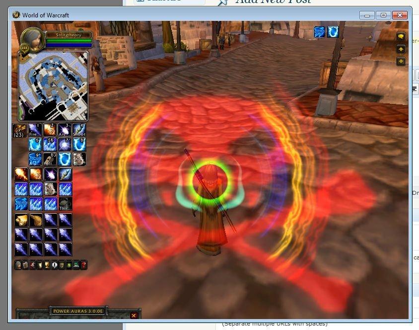 Power Auras When Rainbows Attack