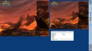 A New Beginning - World of Warcraft dual-boxing Login Screen