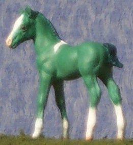 Irish Latte - Custom Breyer Stablemate Standing Foal