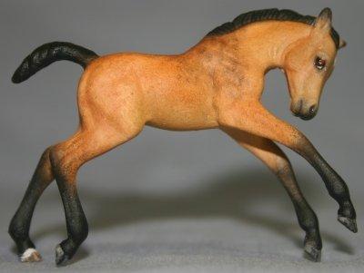 Jessie - Custom Breyer Stablemate G2 Scrambling Foal - Right