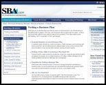 SBA Business Plans