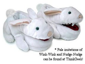Wink-wink and Nudge-nudge