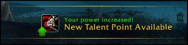 New Talent Point - Level 15