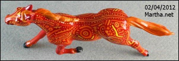 Feuertänzer  - Custom Breyer Stablemate Standardbred - Top