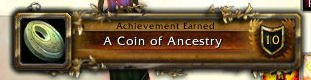 Achievement - Coin of Ancestry Level 30