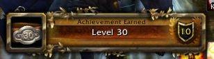 Achievement - Level 30