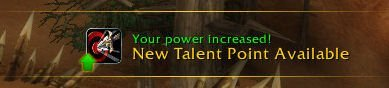 Level 27 - New Talent Point