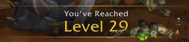 World of Warcraft Level 29