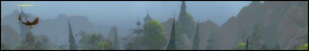 Scenery Long Mountains Mist Eagle