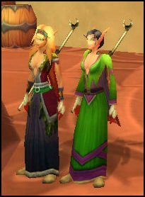Illysu and Illysa chilling in Silvermoon