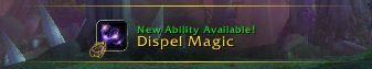 Level 26 - Dispel Magic
