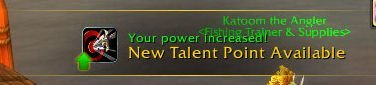 Level 31 - New Talent Point