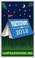 Camp NaNoWriMo 2012