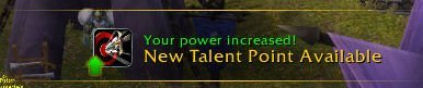 Level 37 - New Talent Point