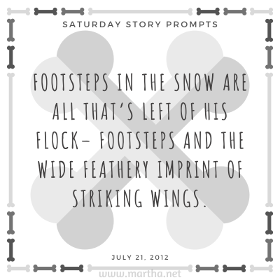 022 Saturday Story Prompts 2012-07-21