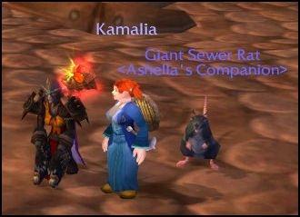 Ashella being short with Kamalia