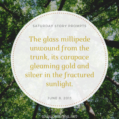 023 Saturday Story Prompts 2013-06-08