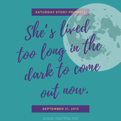 031 Saturday Story Prompts 2013-09-21