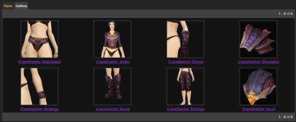Cranefeather Gear