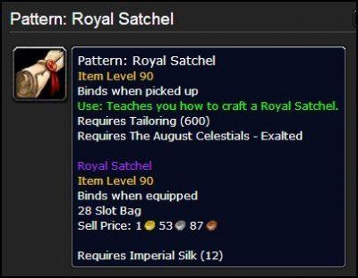 Pattern Royal Satchel