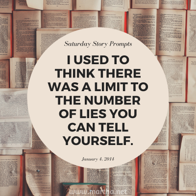 038 Saturday Story Prompts 2014-01-04