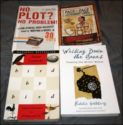 No Plot No Problem, Bird by Bird, Writing Down the Bones, Page After Page