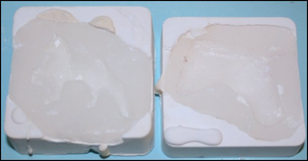Silicone Caulk Plaster Mother Molds Assembled