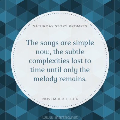 023 Saturday Story Prompts 2014-11-01