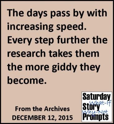 Saturday Story Prompts 12-12-2015
