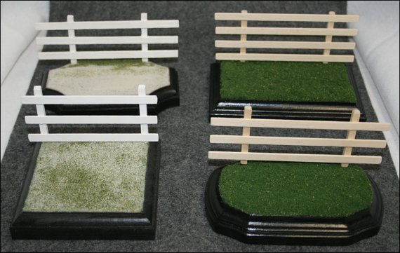Model Horse Removable Fencing