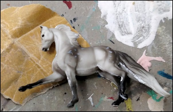 Sanding Breyer Mini Whinnies