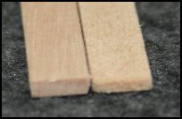 Size difference between Basswood and Soap Stirrers