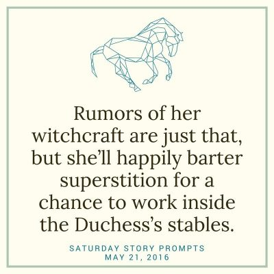 Saturday Story Prompts 2016-05-21