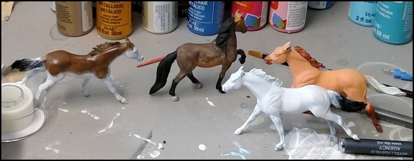 Four Horses of the Workbench