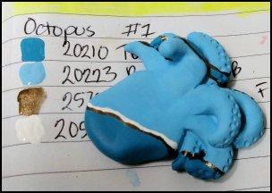 Tiny Blue Octopus