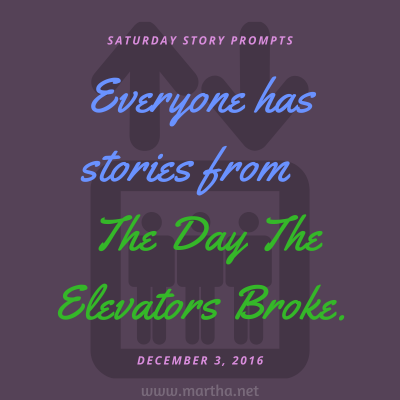 018 Saturday Story Prompts 2016-12-03