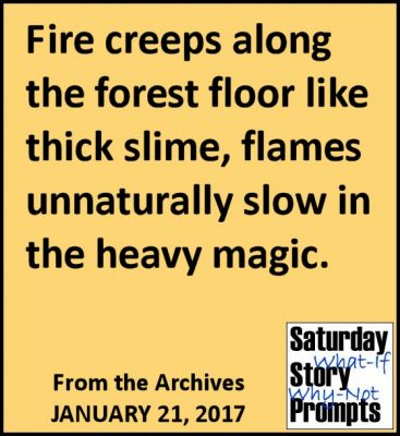 Saturday Story Prompts 01-21-2017