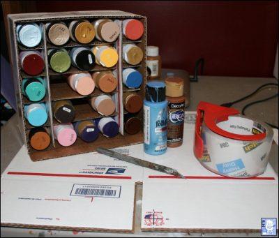 Simple Craft Paint 2oz Storage Solution