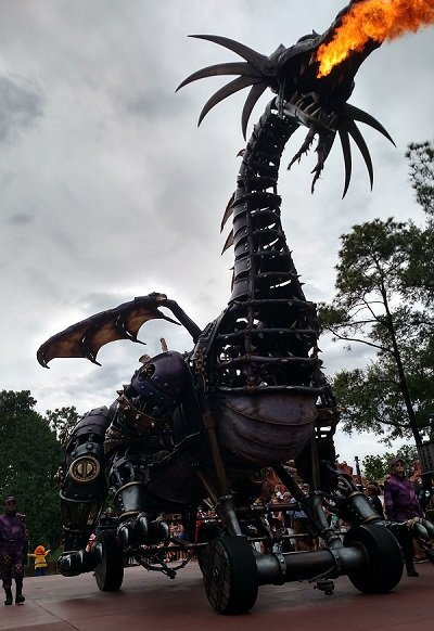 Steampunk Disney Dragon