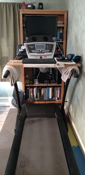 Treadmill Gaming on the Slow
