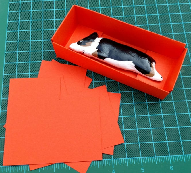 First attempt a cardstock box