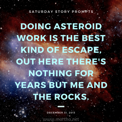 010 Saturday Story Prompts 2013-12-31