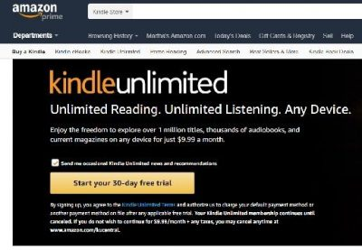 Chasing Kindle Unlimited KDP Select