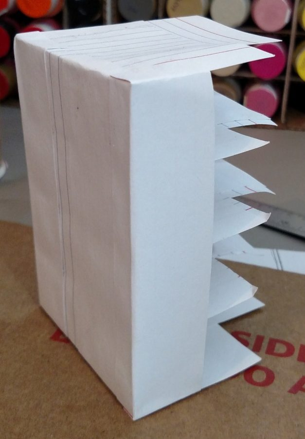 Index Card Storage Box - Front Wrap