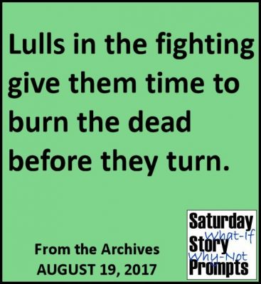 Saturday Story Prompts 08-19-2017