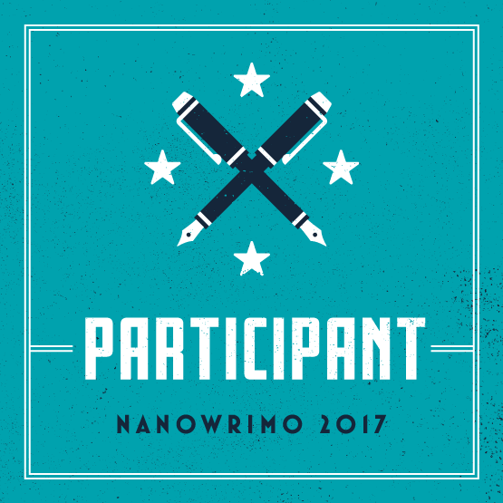NaNo 2017 Participant Badge