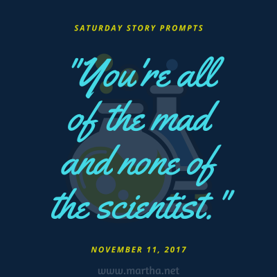 018 Saturday Story Prompts 2017-11-11